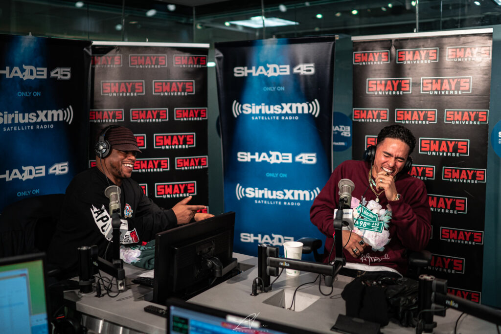 Adrian Marcel Interview with Sway In The Morning
